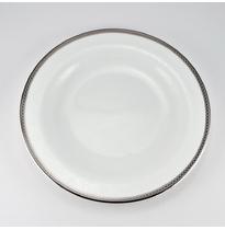 Набор тарелок десертных 21 см Серебряная вышивка 6/6