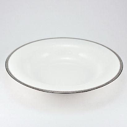 Набор тарелок суповых 23,5 см Серебрянная вышивка 6/6