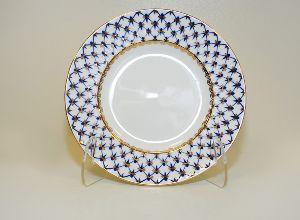 Тарелка 15 см Волна Кобальтовая сетка