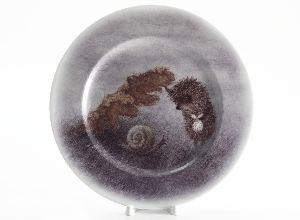 Тарелка 26,5 см Подарочный набор Mazarin Ежик и листик
