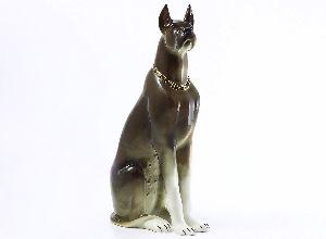 Скульптура Дог коричневый
