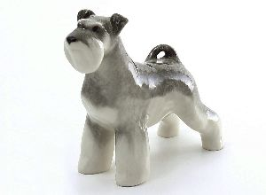 Скульптура цвергшнауцер Дейзи
