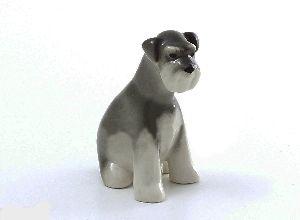 Скульптура Цвергшнауцер щенок Молли
