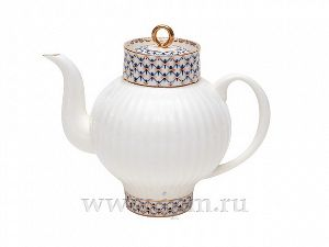 Чайник заварочный 800 мл Волна Кобальтовая сетка