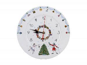 Часы декоративные 27 см Европейская 2 Щелкунчик