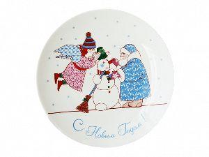 Декоративная тарелка 19,5 см Эллипс Забава