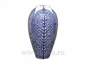 Ваза для цветов 308 мм Лилия Кружевной лист