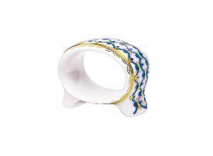 Кольцо для салфеток Молодежная Кобальтовая сетка