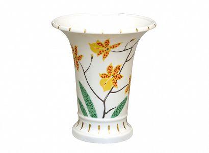 Ваза для цветов 203 мм Ампирная Тигровая орхидея