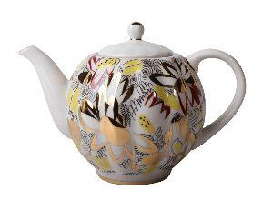 Чайник заварочный 600 мл Тюльпан Золотые ромашки