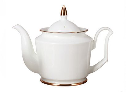 Чайник заварочный 700 мл Юлия Золотая лента