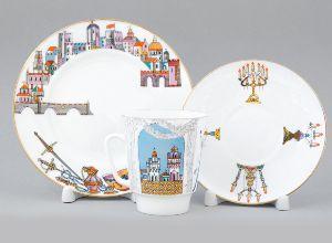 Комплект кофейный 165 мл Майская Балет Ромео и Джульетта 1/3