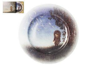Тарелка 26,5 см Подарочный набор Mazarin Ежик и светлячки