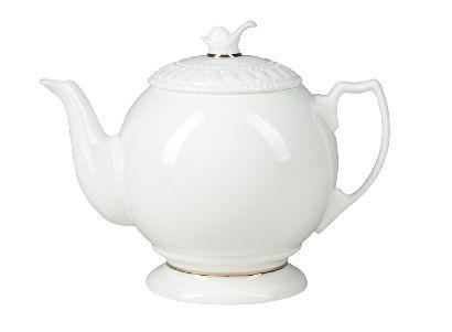 Чайник заварочный 700 мл Жемчужина Золотая Лента