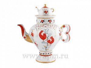 Чайник заварочный 480 мл Самоварчик Народные мотивы